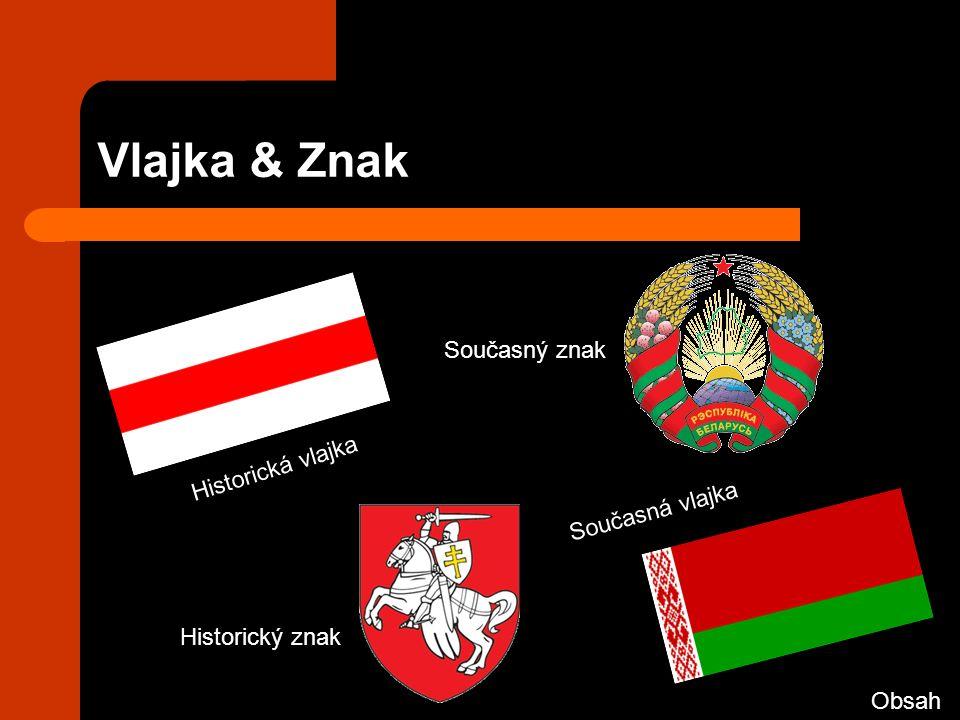 Vlajka & Znak Současná vlajka Historická vlajka Současný znak Historický znak Obsah