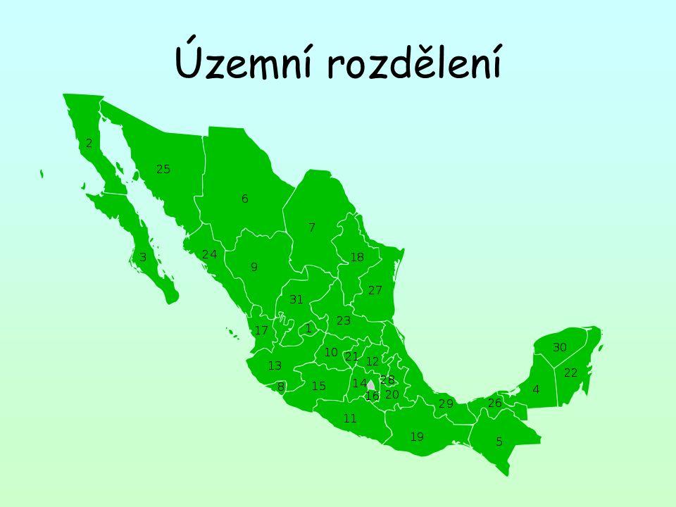 Územní rozdělení