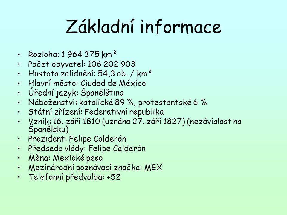 Základní informace Rozloha: 1 964 375 km² Počet obyvatel: 106 202 903 Hustota zalidnění: 54,3 ob.
