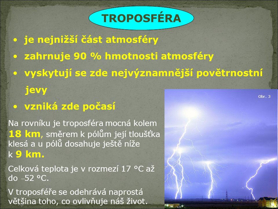 MÍRNÝ Velká proměnlivost počasí  střídání 4 ročních dob (ČR)