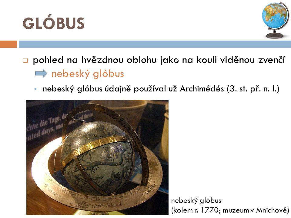 historické glóbusy barokní nebeský glóbus; V.Coronelli; kolem r.