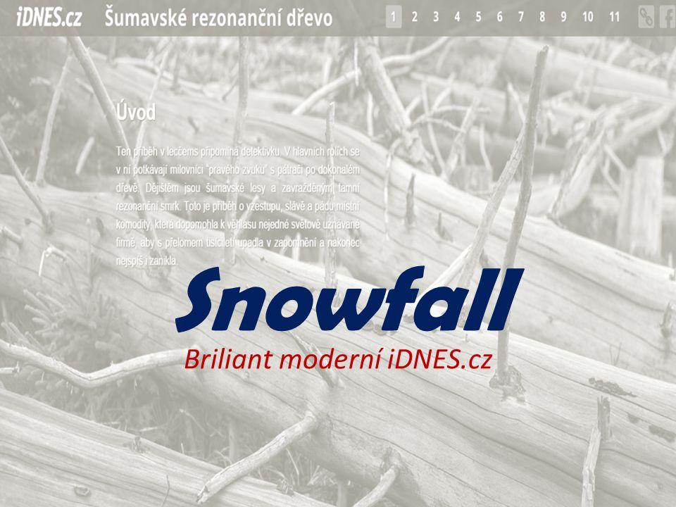 Snowfall Briliant moderní iDNES.cz