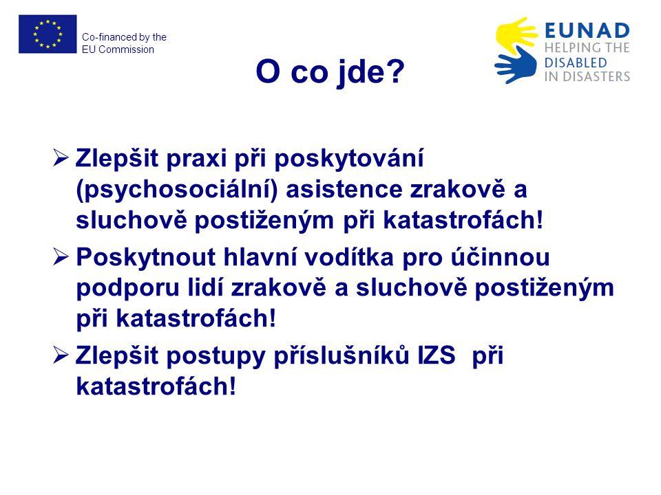 Co-financed by the EU Commission EUNAD No.