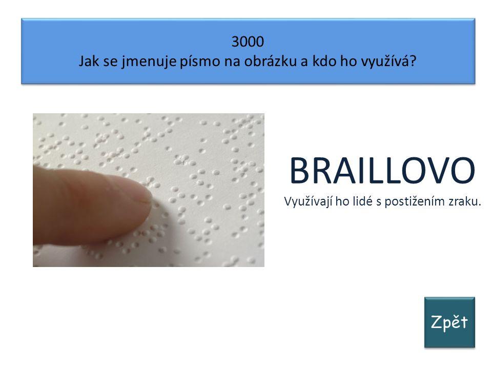 Zpět 3000 Jak se jmenuje písmo na obrázku a kdo ho využívá.