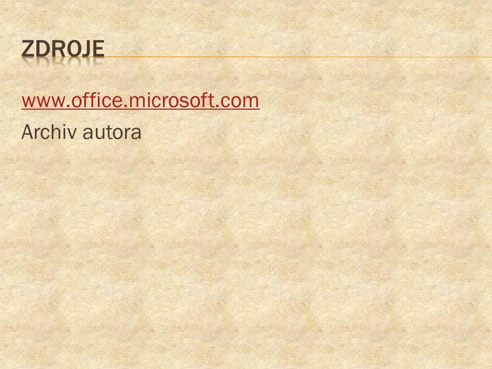 www.office.microsoft.com Archiv autora