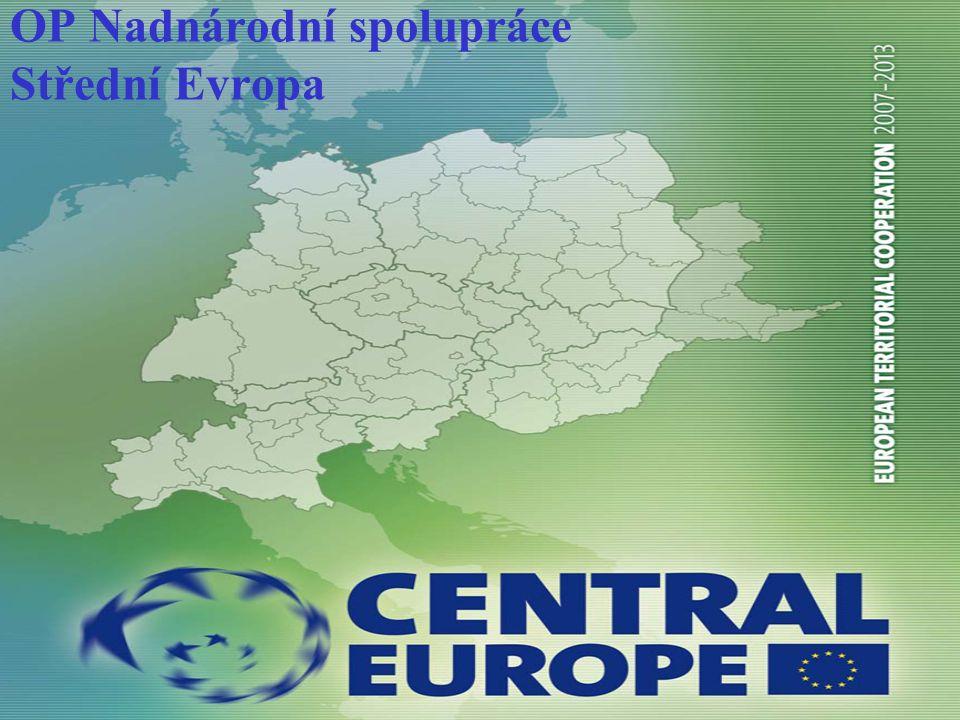 OP Nadnárodní spolupráce Střední Evropa