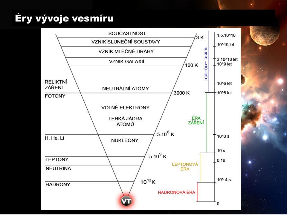 Éry vývoje vesmíru