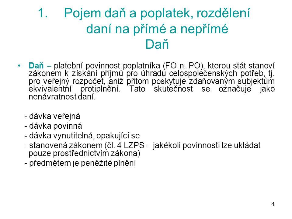 75 5.Harmonizace DPH DPH – sazby daně Směrnice č.