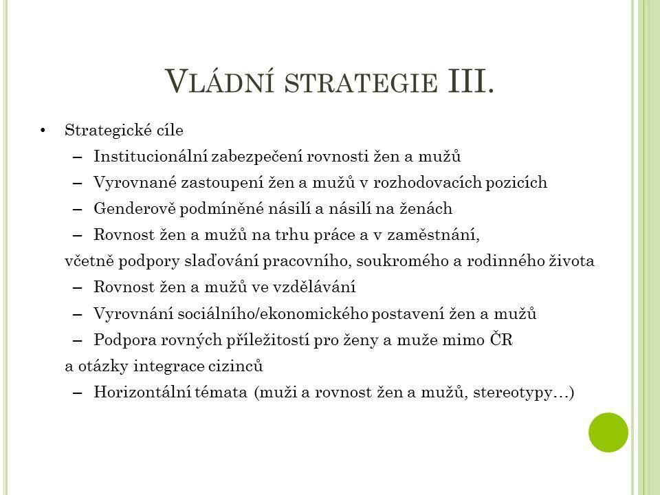 V LÁDNÍ STRATEGIE III.