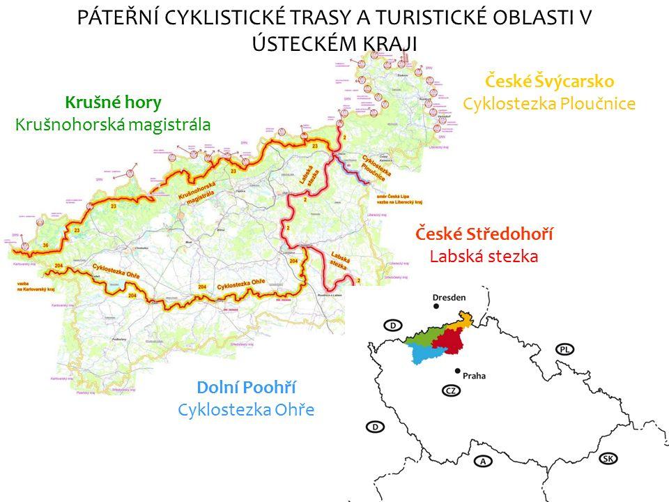 Labská stezka ČR pramen Krkonoše SRN Severní moře 1233 km