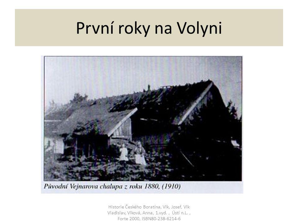 První roky na Volyni Historie Českého Boratína, Vlk, Josef, Vlk Vladislav, Vlková, Anna, 1.vyd., Ústí n.L., Forte 2000, ISBN80-238-6214-6