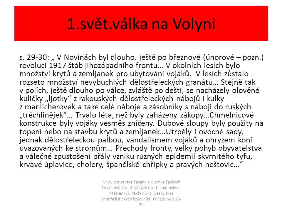 1.svět.válka na Volyni s.