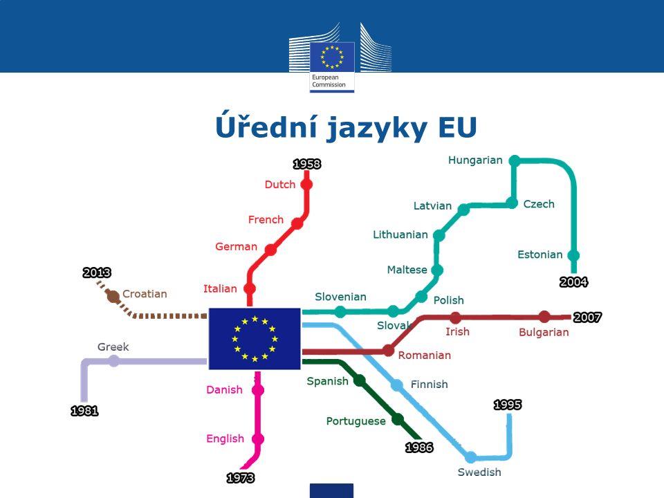 Jaké dokumenty překládáme - obecně Právní předpisy, politické dokumenty, zprávy Komise ostatním orgánům EU, podklady týkající se finančních, technických, právních, odborných či ekonomických záležitostí, korespondence, internetové stránky, materiály pro veřejnost, projevy, zápisy ze zasedání….