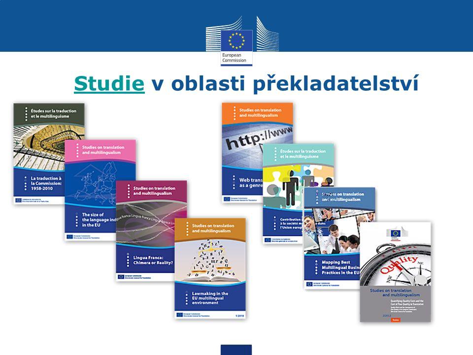 StudieStudie v oblasti překladatelství