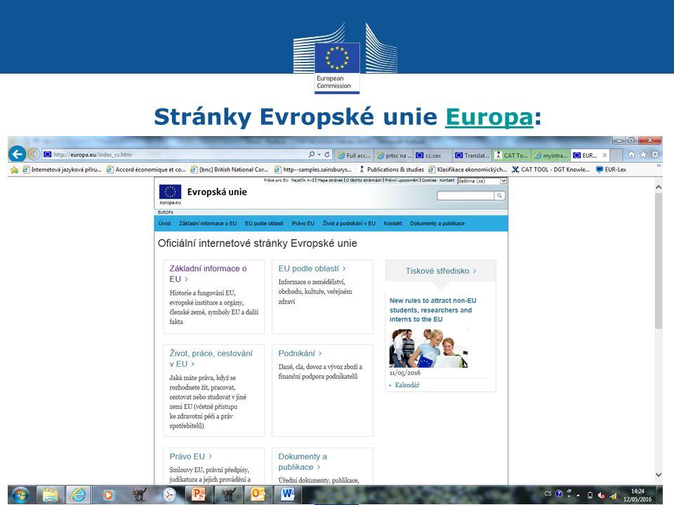 Požadavky pro výběrové řízení Občanství EU Vysokoškolské vzdělání (nejméně Bc.) Zkušenosti nejsou podmínkou