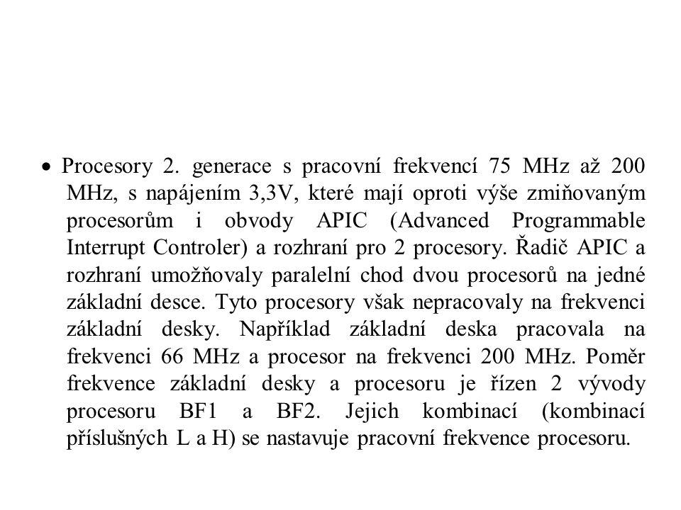  Procesory 2.