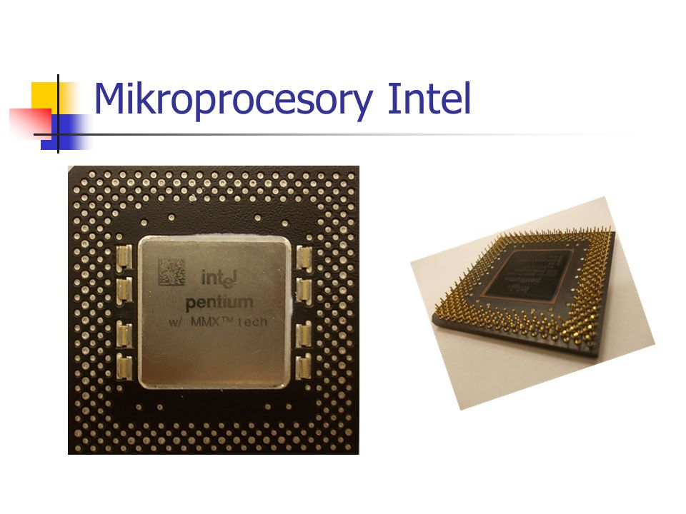 Mikroprocesory Intel