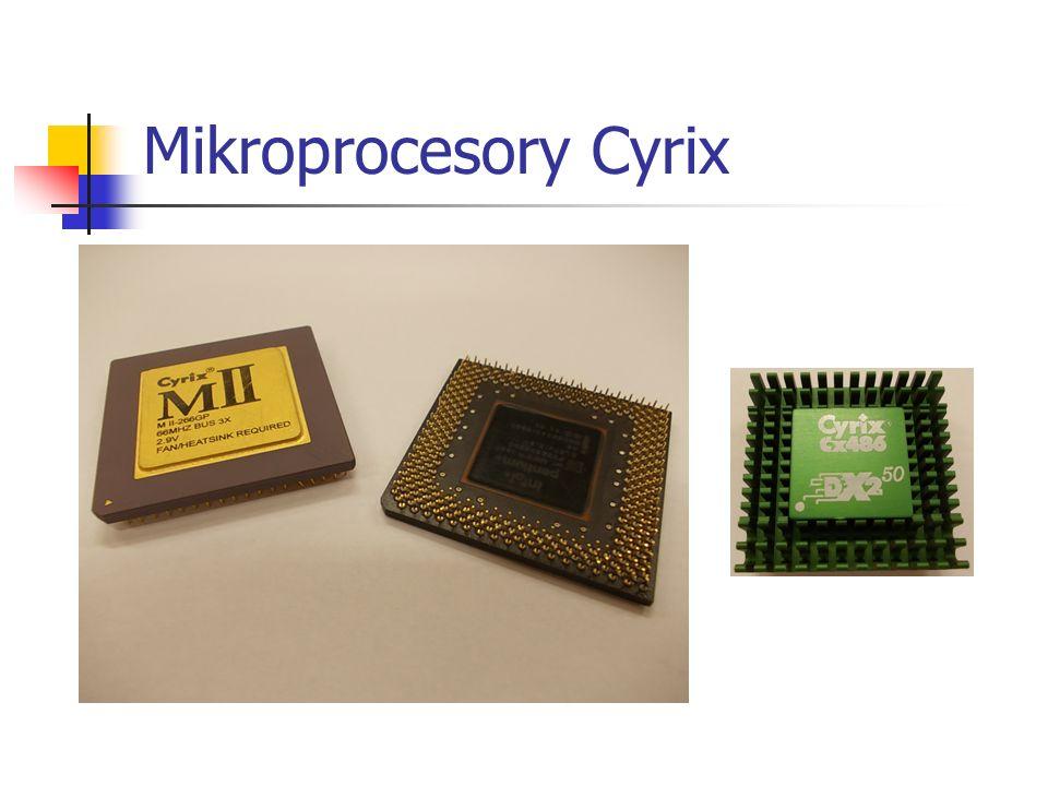 Mikroprocesory Cyrix