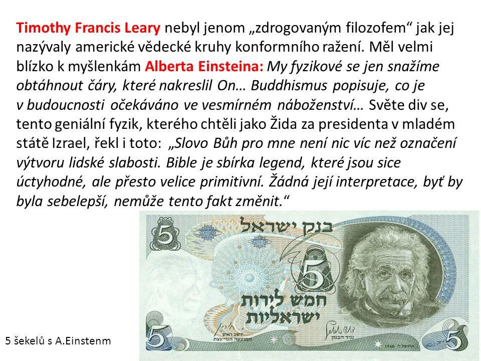 Timoty Leary byl představitel tehdejší kontrakultury.