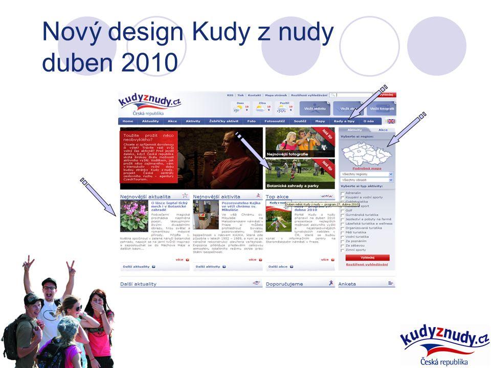 Nový design Kudy z nudy duben 2010