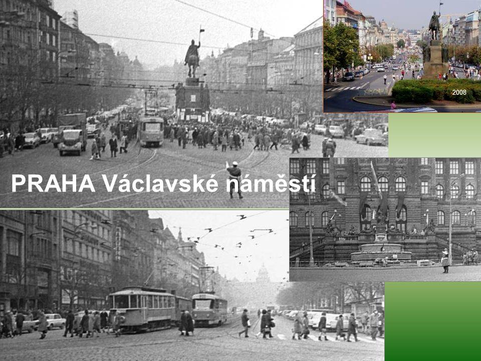 2008 PRAHA Václavské náměstí