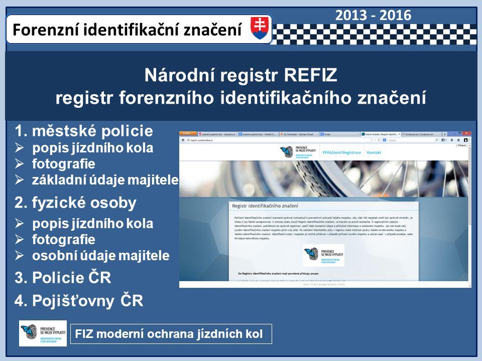 1. městské policie  popis jízdního kola  fotografie  základní údaje majitele 2.