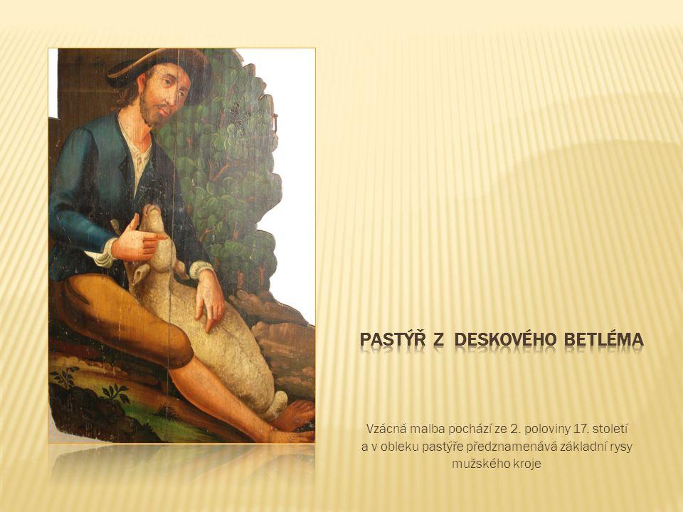 Vzácná malba pochází ze 2. poloviny 17.