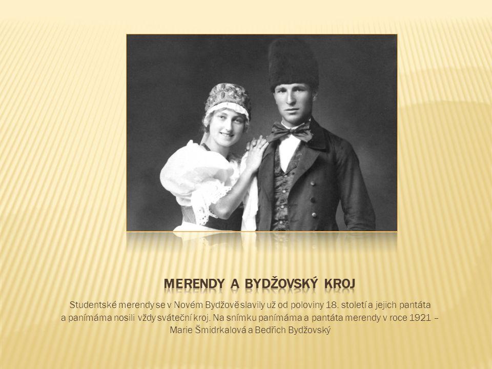 Studentské merendy se v Novém Bydžově slavily už od poloviny 18.