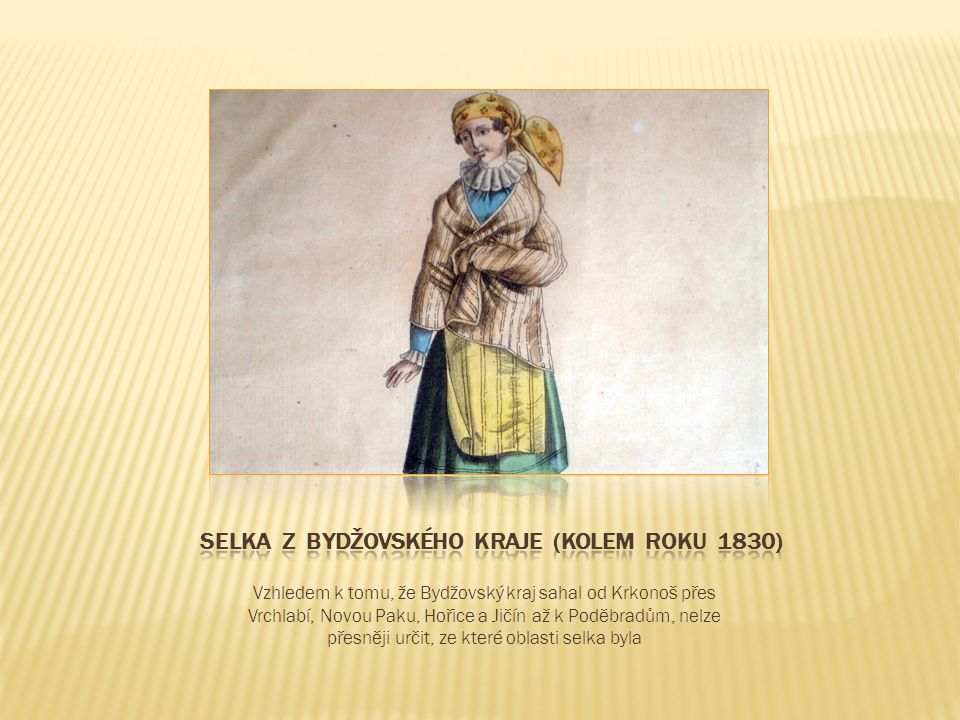 V pracovních oděvech se i u nás uplatňoval modrotisk, ale originální látky se nedochovaly.