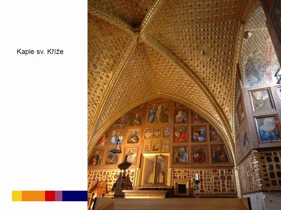 Karlštejn 129 deskových obrazů v karlštejnské kapli sv.