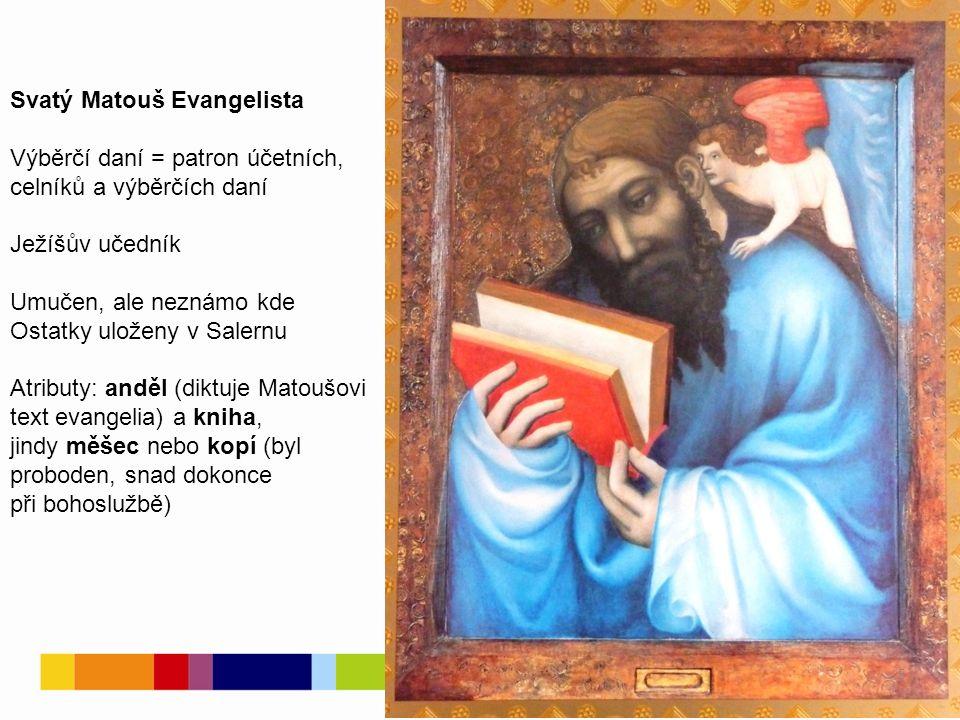 Porovnejte individuální rysy obou evangelistů Zamyslete se nad tím, zda tak skutečně vypadali! 6