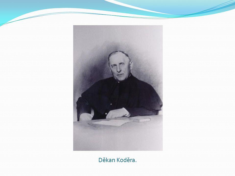 Děkan Koděra.