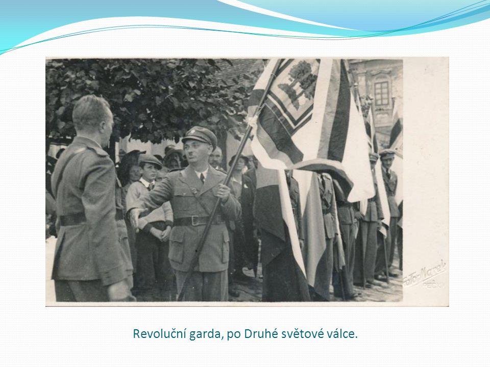 Revoluční garda, po Druhé světové válce.