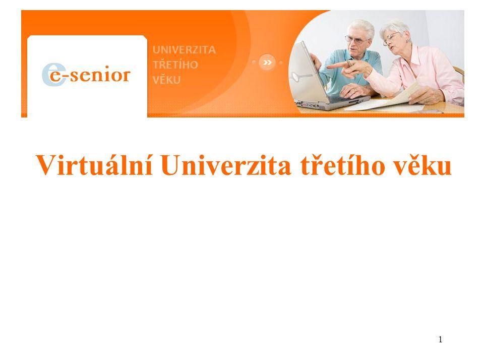 1 Virtuální Univerzita třetího věku