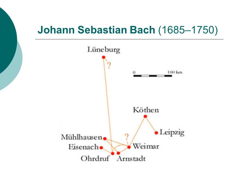 Život Johann Sebastian Bach byl dvakrát ženatý.