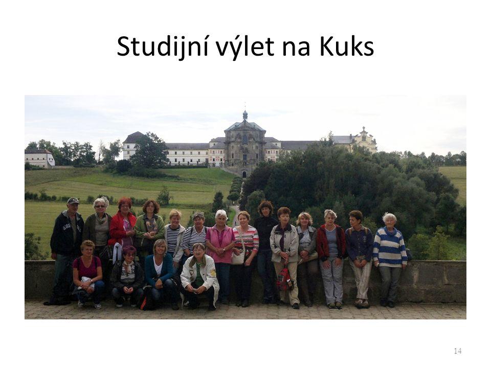 Studijní výlet na Kuks 14