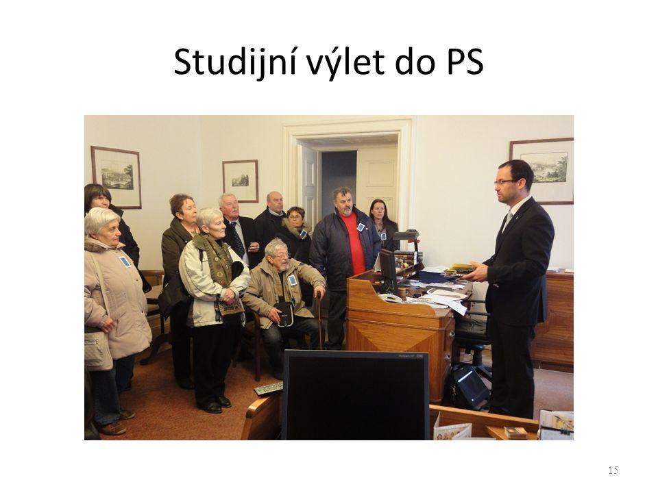 Studijní výlet do PS 15