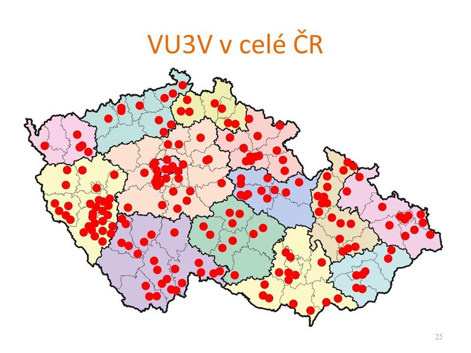 VU3V v celé ČR 25