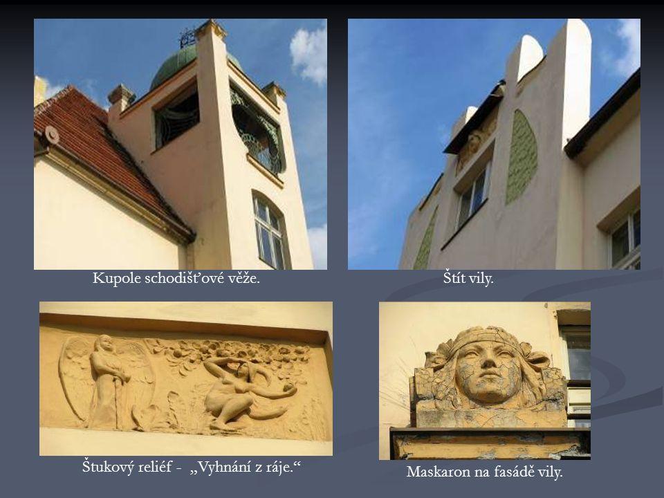 Dům na Karlovarské třídě č.70, projekt vypracoval vídeňský architekt František Krásný(narodil se v Koterově 1865-1947) pro plzeňského sládka K.Kestřánka.