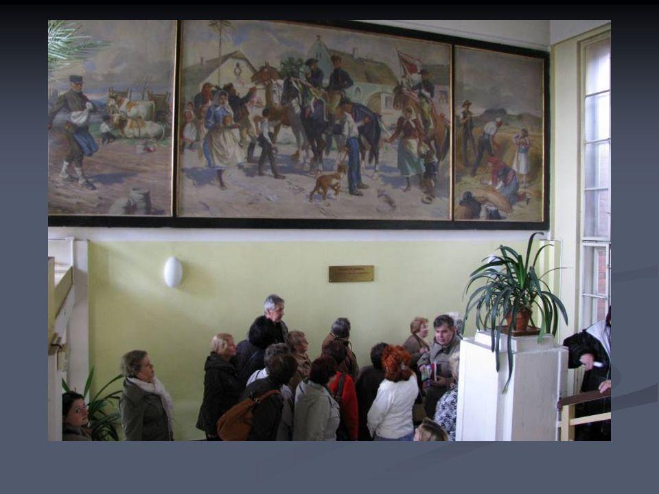 Do Pavlovova ústavu jsme se šli podívat na obraz Augustina Němejce.