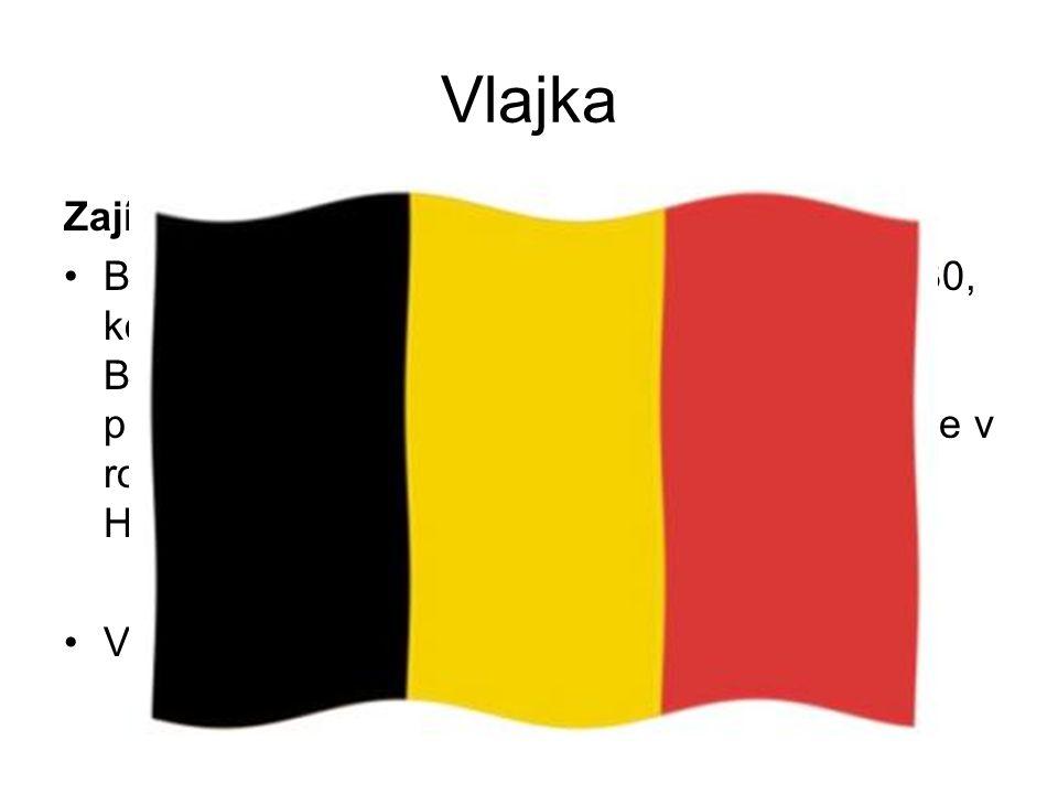 Vlajka Zajímavost o vlajce Belgická národní vlajka byla přijata v roce 1830, kdy země získala nezávislost na Nizozemsku.