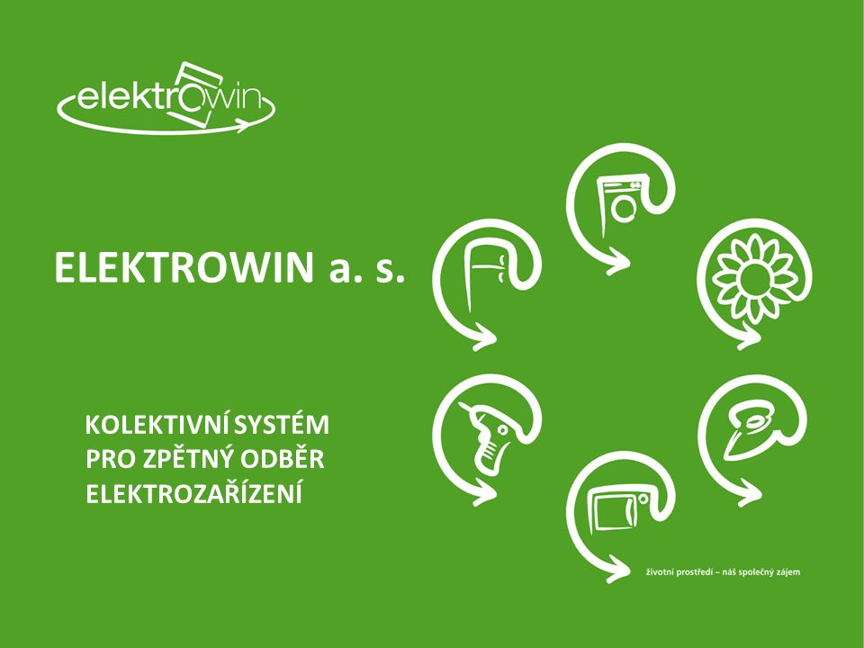 Plnění cíle EU - 4 kg/os/rok v ČR rok200620072008200920102011201220132014 Celkem ZO20 13630 56944 62558 12354 00055 00053 00053 92458 261 kg/osoba/rok1,962,974,35,65,2 5,1 5,5