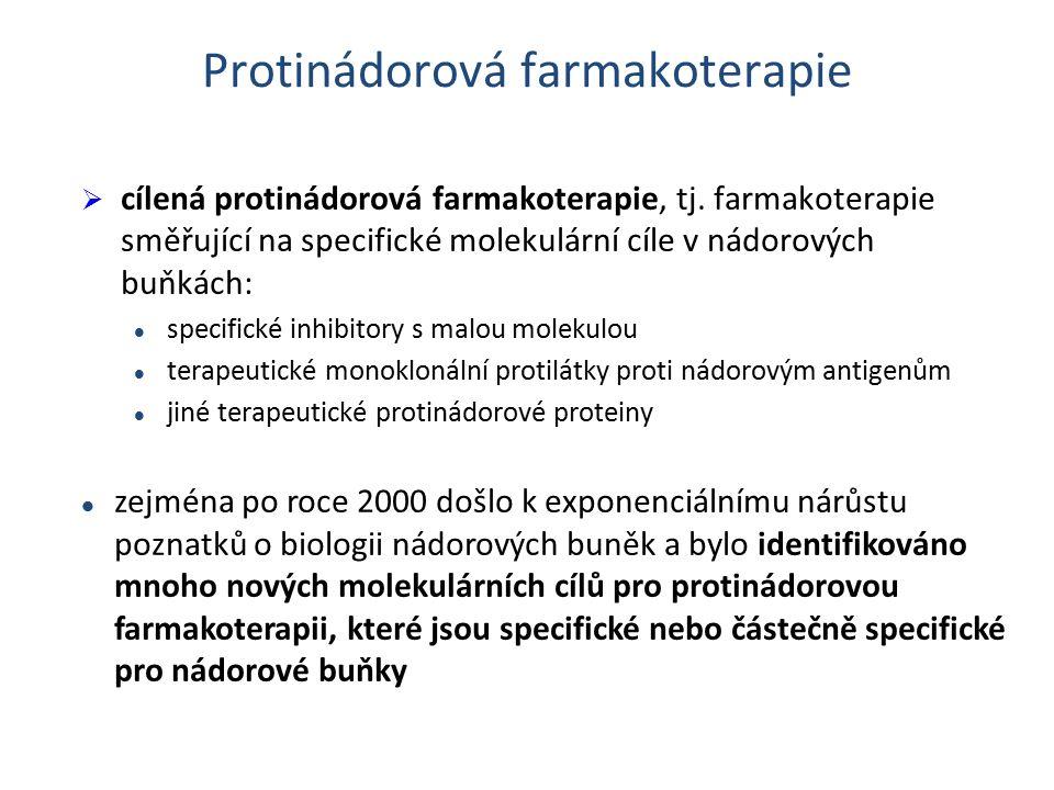 Protinádorová farmakoterapie  cílená protinádorová farmakoterapie, tj.