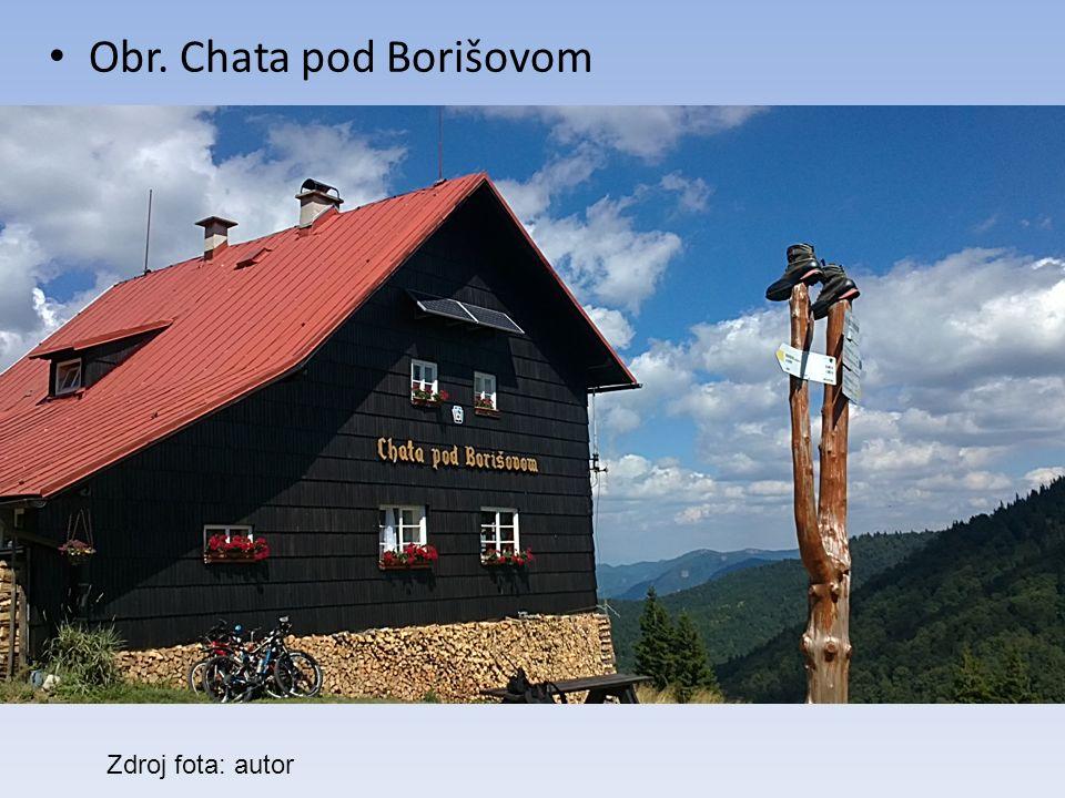 Obr. Chata pod Borišovom Zdroj fota: autor