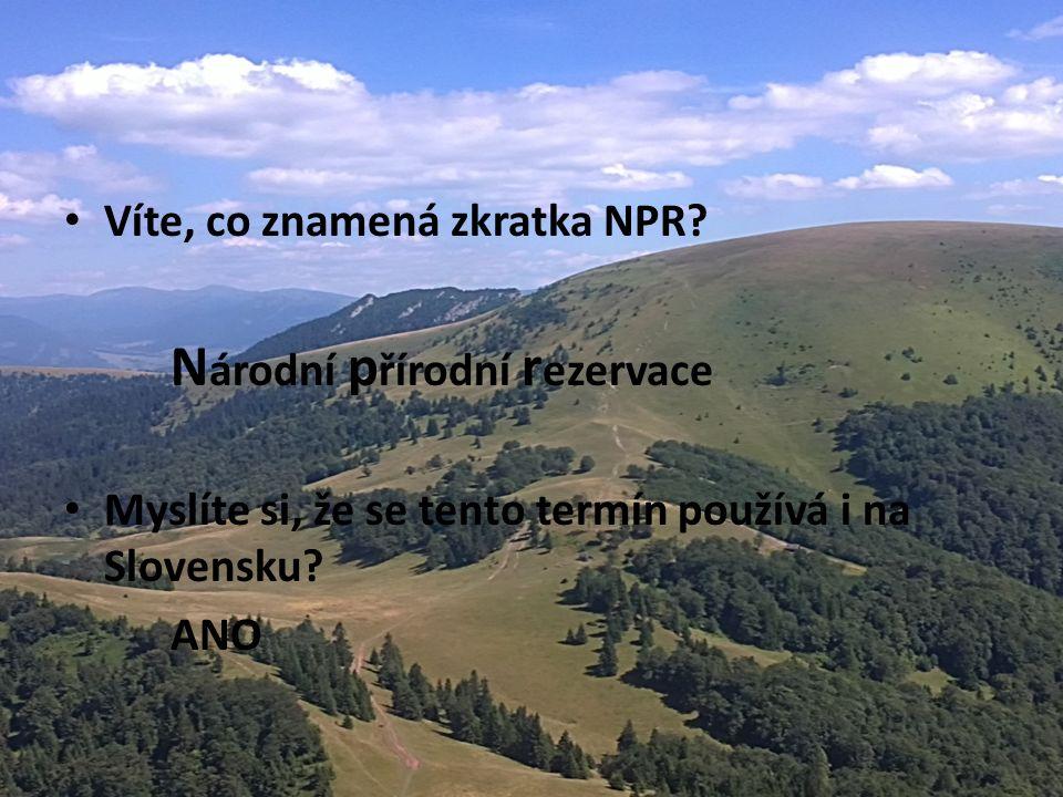 Víte, ve které zemi se nachází NPR Borišov.