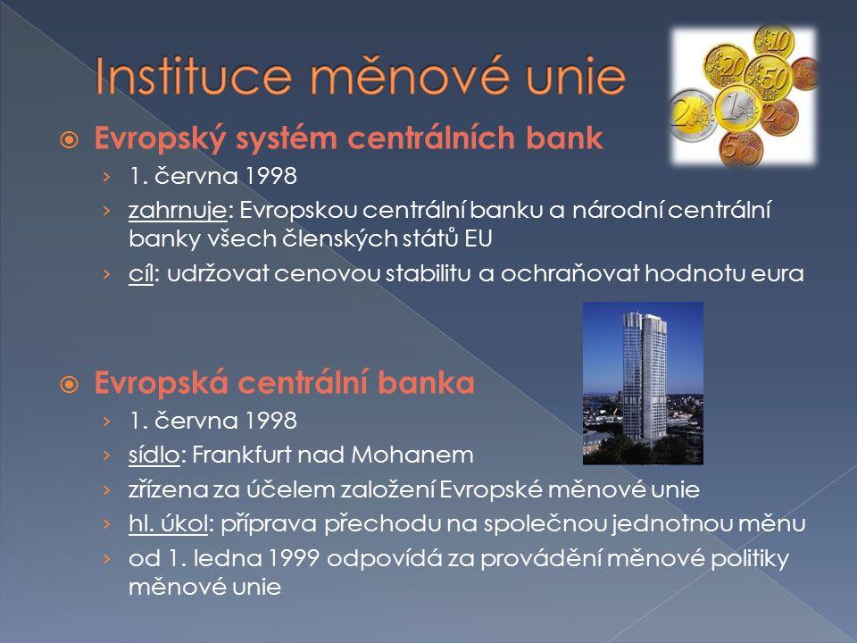  Evropský systém centrálních bank › 1.