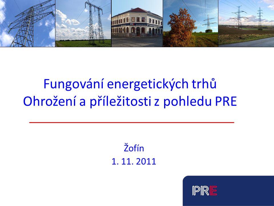 Pražská energetika, a. s. Představení společnosti PRE