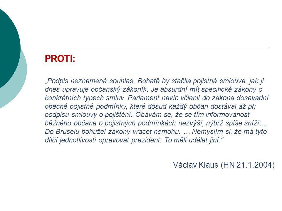 """VODNÍ BOHATSTVÍ ČESKÉ REPUBLIKY PROTI: """"Podpis neznamená souhlas."""