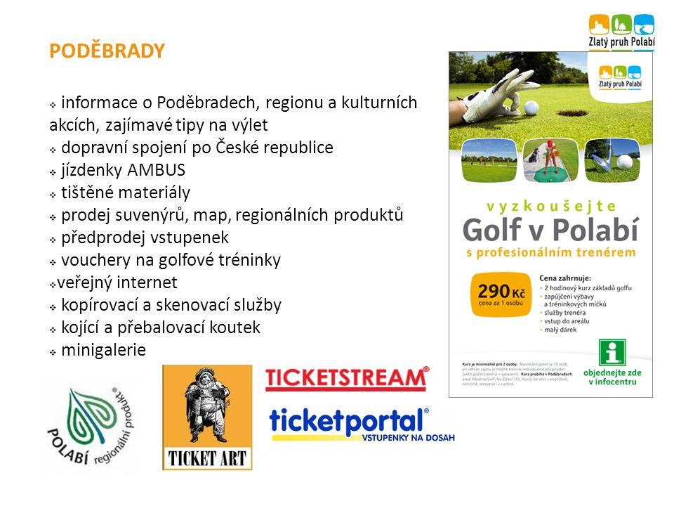 PODĚBRADY  informace o Poděbradech, regionu a kulturních akcích, zajímavé tipy na výlet  dopravní spojení po České republice  jízdenky AMBUS  tišt