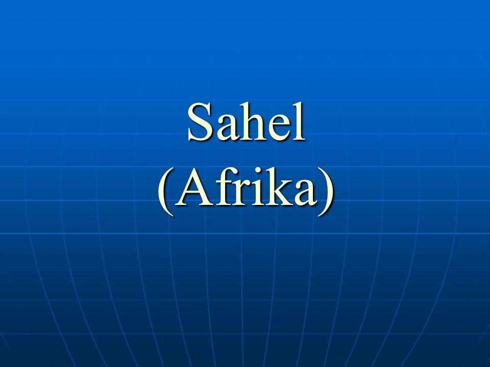 Anotace: Prezentace umožní žákům vytvoření reálné představy o africkém Sahelu.